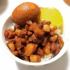 簡単!本場台湾的魯肉飯(ルーローハン)。