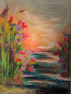 Lavender in the air - Dominique Boisjoli