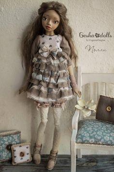 Полли - GeshaDolls-авторские куклы Евгении Драгиной