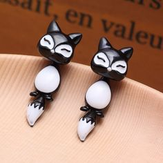 Cute Fox Stud Earrings For Women – Alashia's Closet