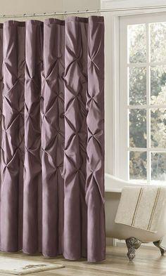 Plum Dycus Shower Curtain