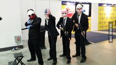 Payday 2 cosplay. Time to rob everything in STGCC