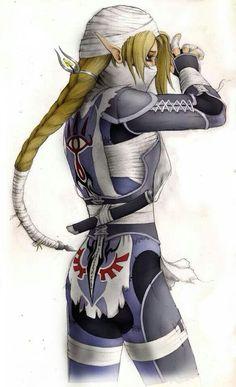Princess Zelda(Sheik's suit)