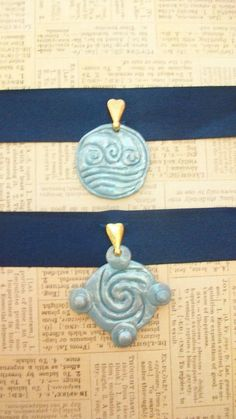 Katara's Necklace from the Southern Water Tribe and Princess Yue's Necklace from the Northern Water Tribe from Avatar: the Last Airbender