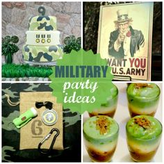 Military Party Ideas | CatchMyParty.com