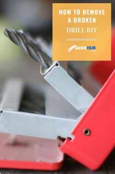 Your drill bit is broken, so what do you do now? We put together a guide on how to remove the drill bit correctly and safely. #sawshub #drill #bit #drillbit Drill Bit Sizes, Cheap Tools, Great Gifts For Men, Hammer Drill, Stick It Out, Diy Home Improvement, Home Repair, Cleaning Hacks, How To Remove