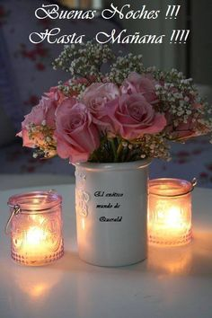 romantic pink roses and candles by ℓυηα мι αηgєℓ ♡ Bougie Partylite, Bougie Candle, Romantic Candles, Beautiful Candles, Candle In The Wind, Rose Cottage, Candle Lanterns, Votive Candles, Scented Candles