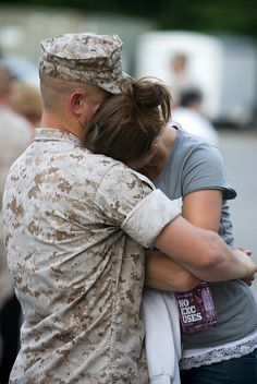 tears stack up over the years - parting gets tougher each time .... each time .... each time .... God Bless Our Military Families!