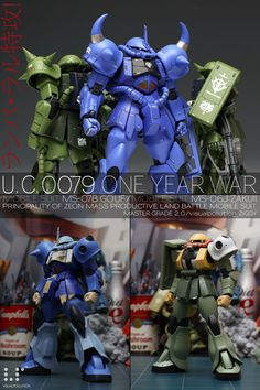 Ramba Ral Suicide Team by ZIGGY Visual Polution about Information and News for Gundam, Figures also in Gundam Century: Ramba Ral Suicide Team by ZIGGY Visual Polution Gunpla Custom, Custom Gundam, Gundam Toys, Robot Art, Robots, Gundam Mobile Suit, Hobby Toys, Game Concept, Clone Trooper