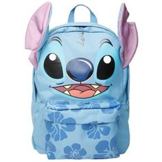 Disney Lilo Stitch Hibiscus Backpack