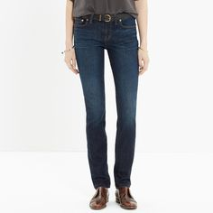 Alley Straight Jeans in Waterfall : Alley Straight   Madewell