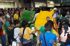 『ガンホーフェスティバル2014』。思った以上に子どもがおおい!