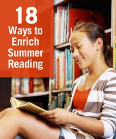 """18 Ways to Enrich Summer Reading at the Library"" on Virtual Learning Connections http://www.connectionsacademy.com/blog/posts/2013-05-17/18-Ways-to-Enrich-Summer-Reading-at-the-Library.aspx #reading #summerlearning #summerschool"