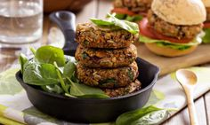 Quick-and-Easy Bean Burgers