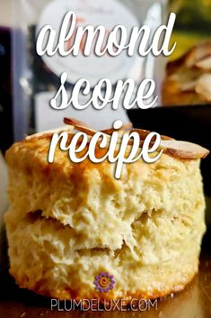 This classic almond scone recipe includes lots of helpful tips – learned from experience – on how NOT to bake scones. #sconesrecipe #sconesrecipeenglish #sconesrecipealmond