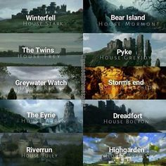 Your favorite House in Westeros?