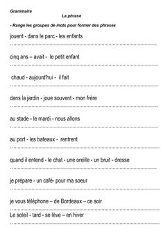 Worksheets 400679698084350113 - la une phrase,majuscules,point, Source by nanouchoune French Language Lessons, French Language Learning, French Lessons, Spanish Lessons, Teaching Spanish, Spanish Language, French Flashcards, French Worksheets, Teaching French Immersion