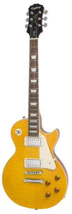 Epiphone Les Paul Standard Plus Translucent Amber Electric Guitar