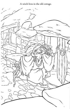 Brave Disney Coloring Page