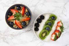 Fresh Fruits Bowls — PixaSquare | Free Hi-Res Stock Photos