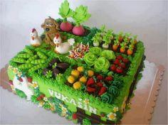 Garden torta.