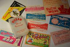 Wanchai Bar cards