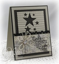 Card by Julee Tilman previewing new stamps releasing from Verve 2/22/13.  #vervestamps