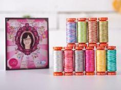 Aurifil 50wt Cotton Thread (Tula Pink Premium Set)