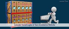 Social Login for your eCommerce Website is important to increase your target audience. You can promote your business immediately as well.
