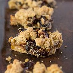 #234434 - Fig and Ginger Crumble Bars Recipe