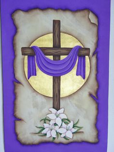 A Stroke of Jeanne-ius - He is Risen Easter Banner Pattern Packet… Jesus Is Risen, He Is Risen, Easter Art, Easter Crafts, Easter Altar Decorations, Somebunny Loves You, Easter Banner, Church Banners, Easter Projects