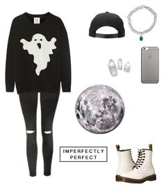 """""""Untitled #239"""" by bandsformybae ❤ liked on Polyvore featuring Topshop, Zoe Karssen, Monsoon, Dr. Martens, Native Union and Seletti"""