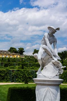 The fabulous gardens at Sanssouci Palace, Potsdam, Germany -
