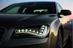 Audi lights, too cool.