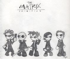 84f2710abd Las 63 mejores imágenes de The Matrix en 2019 | The Matrix, Chibi y ...