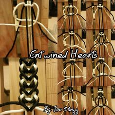 Tutorials by Joseph D.Clegg Tutorials by Joseph D. Paracord Tutorial, Paracord Bracelet Instructions, Paracord Bracelet Designs, Bracelet Knots, Macrame Tutorial, Paracord Bracelets, Bracelet Tutorial, Paracord Weaves, Paracord Braids