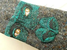 #Custom #Wedding Embroidered Neck Ties by Handsome and Lace | Hatch.co