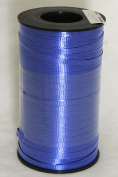 Navy Blue 3/16' Curling Ribbon 500 Yards (1500 Feet) Balloons, Gifts, Party, WeddingLight ** To view further for this item, visit the image link.