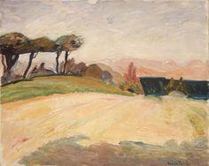 """terminusantequem: """" Thorvald Erichsen (Norwegian, 1868-1939), Italian Landscape…"""