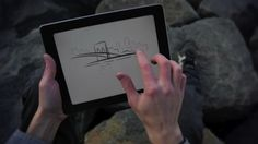 'Paper' App Lets You Sketch Ideas On iPad - DesignTAXI.com - This app is amazing. Bought it when I bought my iPad and use it ALL the time!