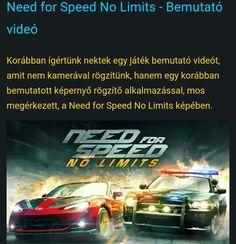 És egy kis játék bemutató  http://www.vizualteszt.hu/alkalmazas-bemutatok/jatekok/65-need-for-speed-no-limits-bemutato-video.html  #needforspeed #nolimits