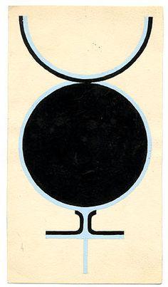 Sex Symbol, 1961. Gouache on paper. 15.3 x 8.9 cm