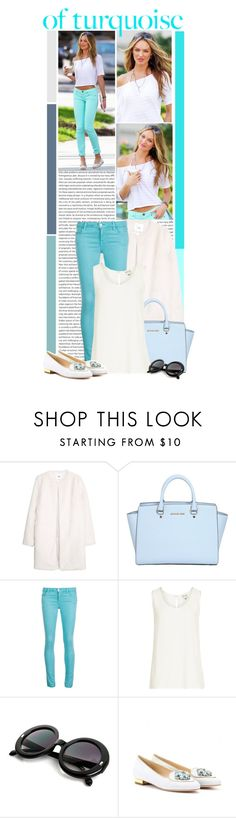 """""""#946 (Candice Swanepoel)"""" by lauren1993 ❤ liked on Polyvore featuring MANGO, MICHAEL Michael Kors, J Brand, Reiss and Charlotte Olympia"""