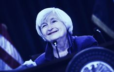 Janet Yellen: We Must 'Act Quickly' on Stablecoin Regulation Janet Yellen, Levels Of Government, Government Spending, Commodity Futures, Bank Deposit, Bitcoin Market, Money Market, Interest Rates, On Today