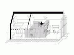 IST—Rodinný dom - Small Spaces Addiction