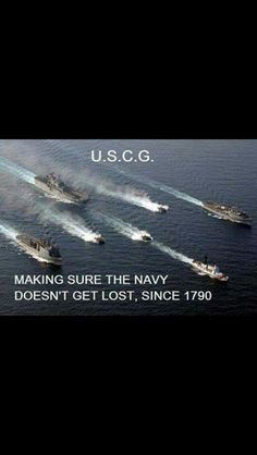 Go Coast Guard! Thank you Coast Guard. Coast Guard Cutter, Us Coast Guard, Military Memes, Military Police, Cost Guard, Us Military Branches, Army & Navy, Boot Camp, Armed Forces