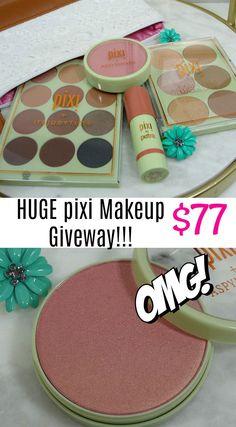 Huge Pixi Makeup Giveaway!!! $77 value! Open International.