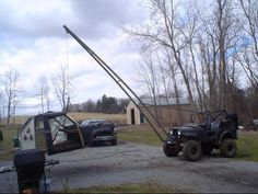 Bootyfab crane project - Page 5 - : and Off-Road Forum Truck Mounted Crane, Truck Tools, Jeep Mods, Big Trucks, Jeep Wrangler, Offroad, 4x4, Cars, Autos
