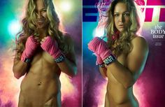 One of the cover girls is Ronda Rousey, a relative unknown compared to some of her Body Issue cohorts. She probably won't be unknown for much longer.