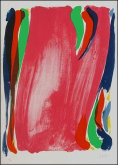 Sans titre, Olivier Debré, 1991